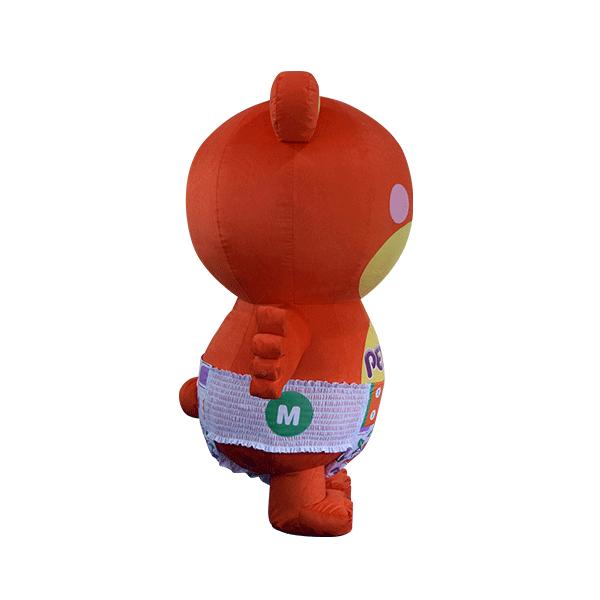 custom mascot supplier malaysia petpet soft bear disposable 4