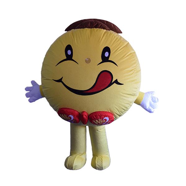 mascot costume winwin girl hola mascot 1