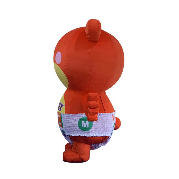 custom mascot supplier malaysia petpet soft bear disposable 2