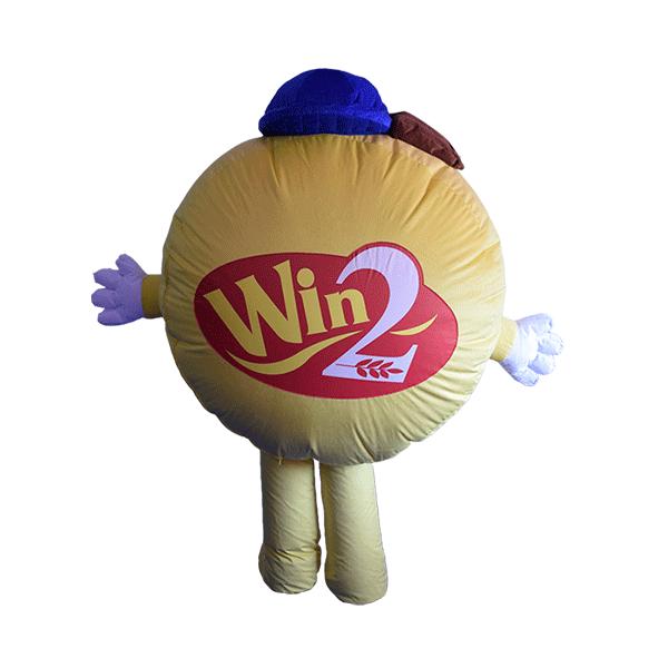 mascot costume winwin boy hola mascot 3
