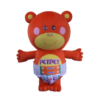custom mascot supplier malaysia petpet soft bear disposable 1