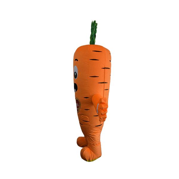 custom mascot supplier malaysia danone dugro carrot hola mascot 4