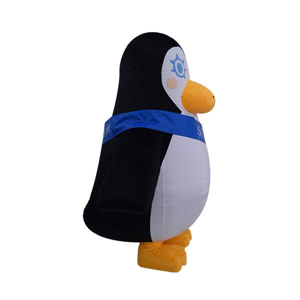 inflatable mascot malaysia penguin senka hola mascot 4