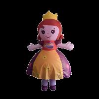 custom mascot supplier malaysia daia princess hola mascot 3