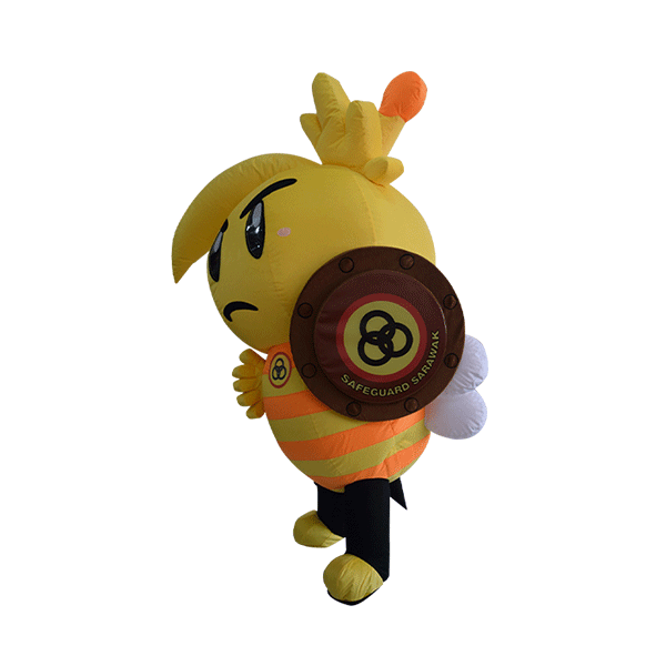 mascot malaysia bee safeguard hola mascot 2