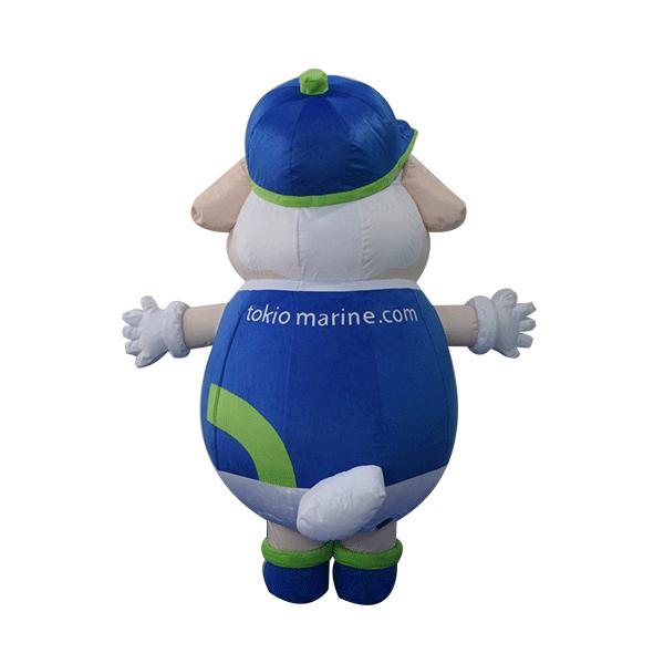 mascot costume tokio marine hola mascot sheep 3