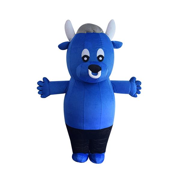 mascot costume malaysia bursa cow hola mascot 2