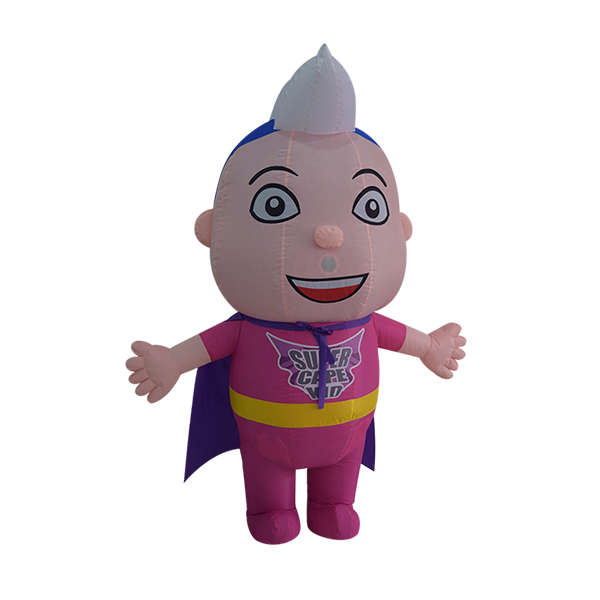 inflatable mascot malaysia super cape kids hola mascot 1