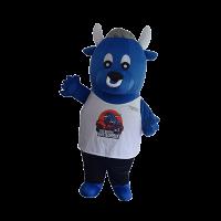 mascot costume malaysia bursa cow hola mascot 1