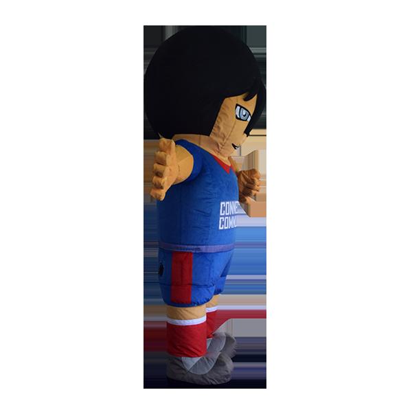 inflatable mascot malaysia soccer boy hola mascot 4