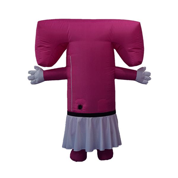 mascot costume malaysia T girl hola mascot 3