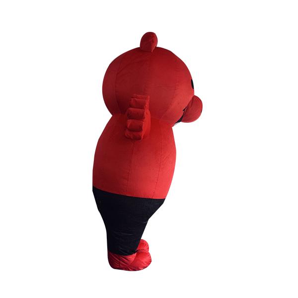 mascot costume malaysia bursa bear hola mascot 5