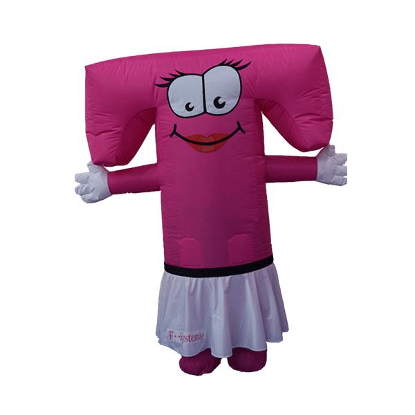 mascot costume malaysia T girl hola mascot 1