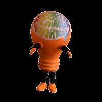 mascot costume malaysia bulb hola mascot 1