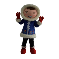 mascot malaysia supplier dreamworld eskimo boy hola mascot 1