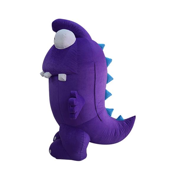 mascot costume malaysia purple dinasour hola mascot 5