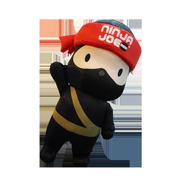 inflatable mascot malaysia ninja joe hola mascot 5