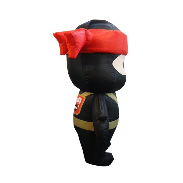 inflatable mascot malaysia ninja joe hola mascot 4