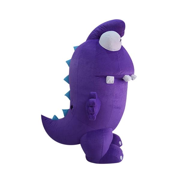 mascot costume malaysia purple dinasour hola mascot 2