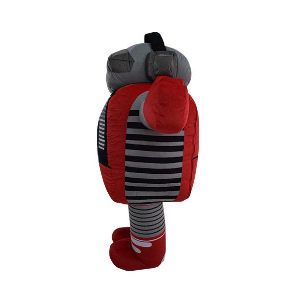 mascot malaysia inflatable with fur hola mascot Munchy's Dj mixer 2
