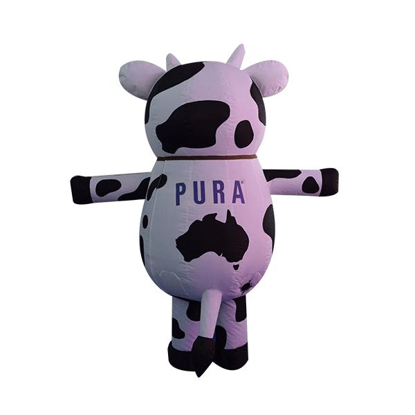 mascot costume malaysia pura cow hola mascot 3