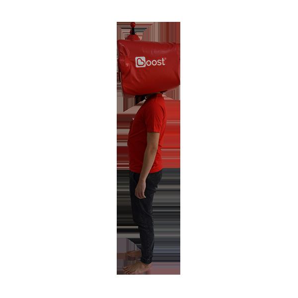 inflatable mascot malaysia boost app hola mascot 2