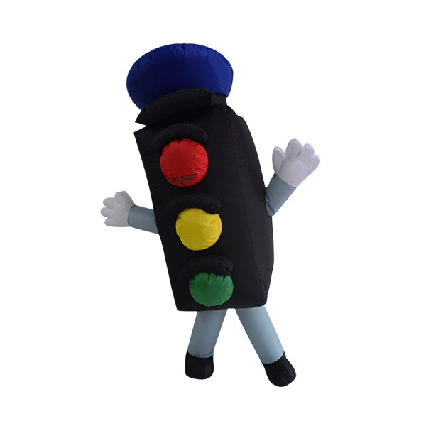 mascot costume malaysia traffic light hola mascot 2