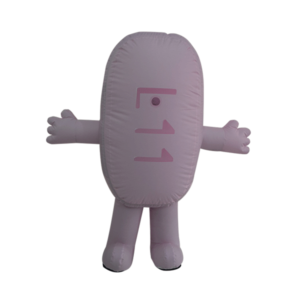 custom made maskot malaysia ubat pill hola mascot 1