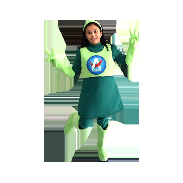 costume rental kl malaysia shop hola mascot acson girl 5