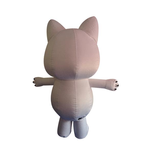 custom made maskot malaysia oishi cat hola mascot 3