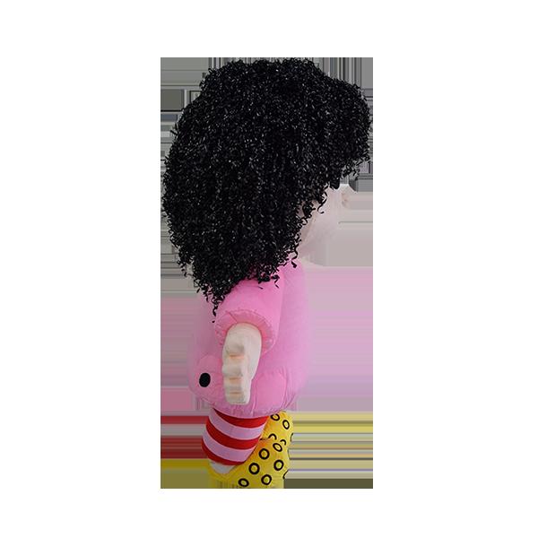 Custom made malaysia mila hair hola mascot 4