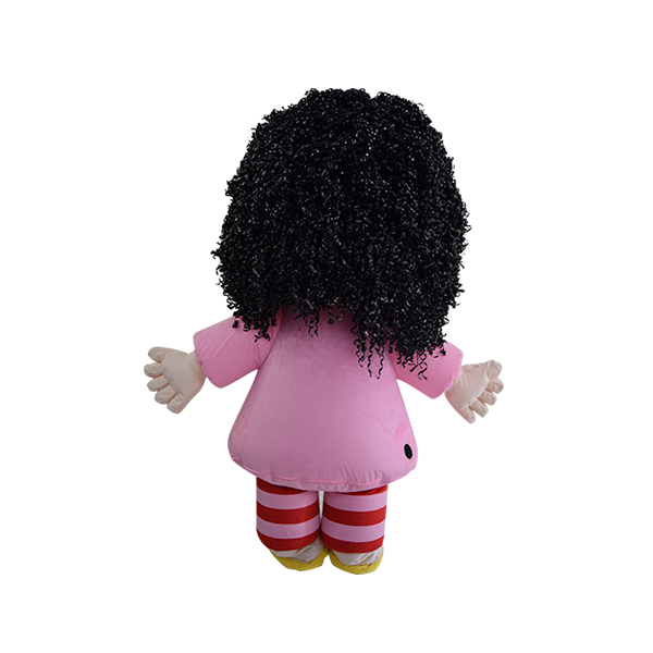 Custom made malaysia mila hair hola mascot 3