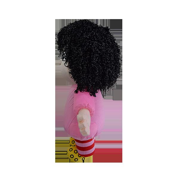 Custom made malaysia mila hair hola mascot 2