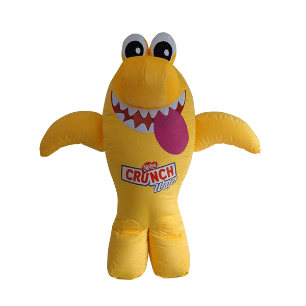 custom made maskot malaysia nestle shark wafer hola mascot 4