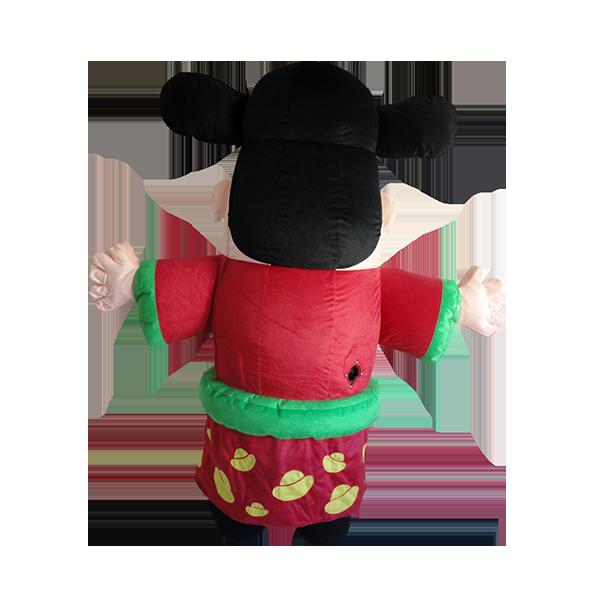 Custom made mascot malaysia chinese new year choy san hola mascot 3