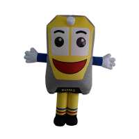 custom made mascot rental komi ktmb Hola mascot 1