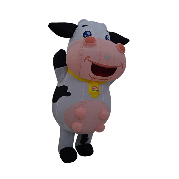 custom made maskot marigold cow hola mascot 11