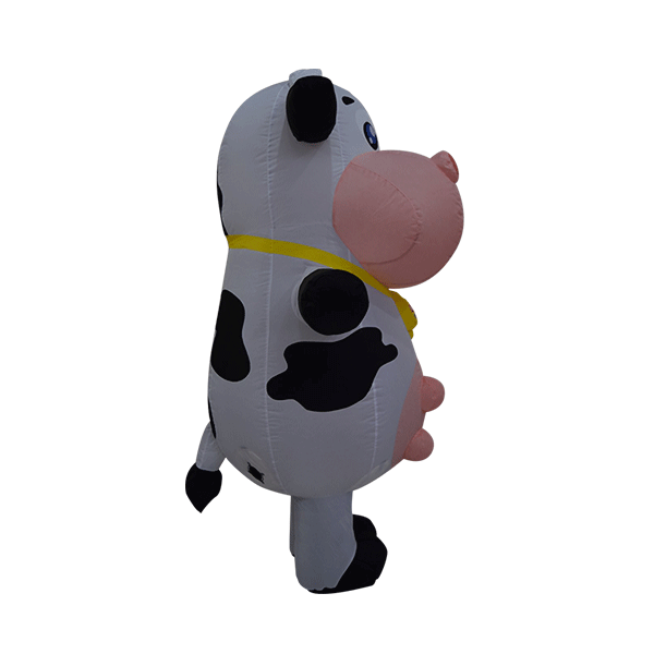 custom made maskot marigold cow hola mascot 10