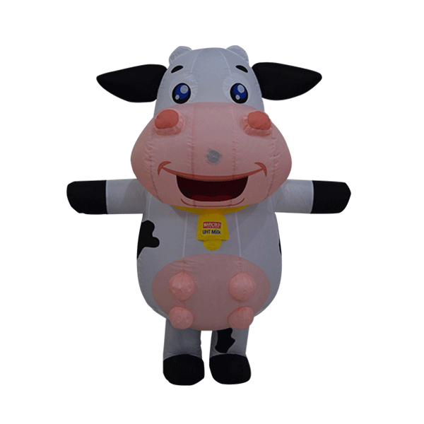 custom made maskot marigold cow hola mascot 6