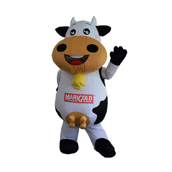 custom made maskot marigold cow hola mascot 5