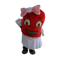 custom made mascot rental malaysia kidney women Hola mascot 4