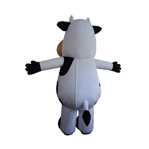 custom made maskot marigold cow hola mascot 3