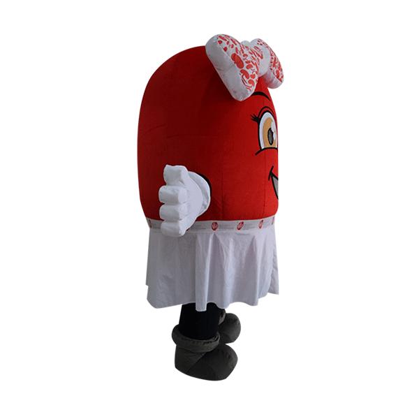 custom made mascot rental malaysia kidney women Hola mascot 3