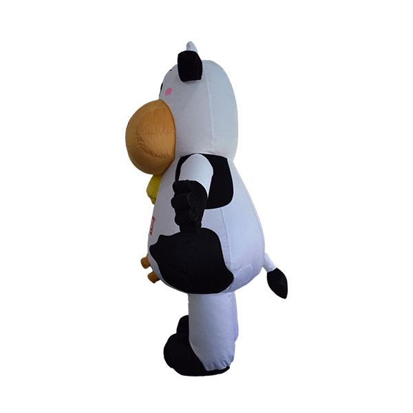 custom made maskot marigold cow hola mascot 2