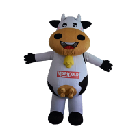 custom made maskot marigold cow hola mascot 1