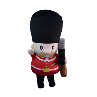 custom made maskot london guard hola mascot 2