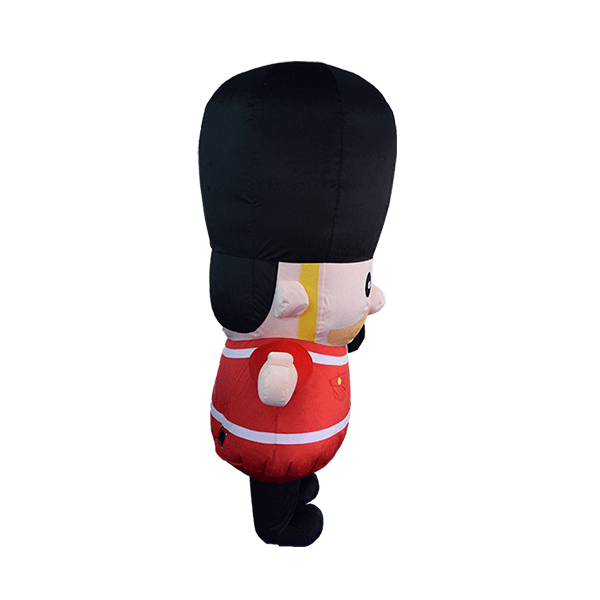 custom made mascot london guard hola mascot 2