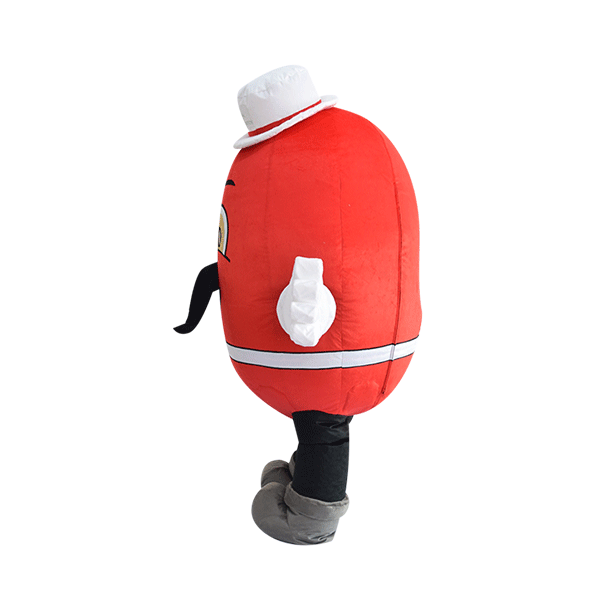 custom made mascot rental malaysia kidney man Hola mascot 3