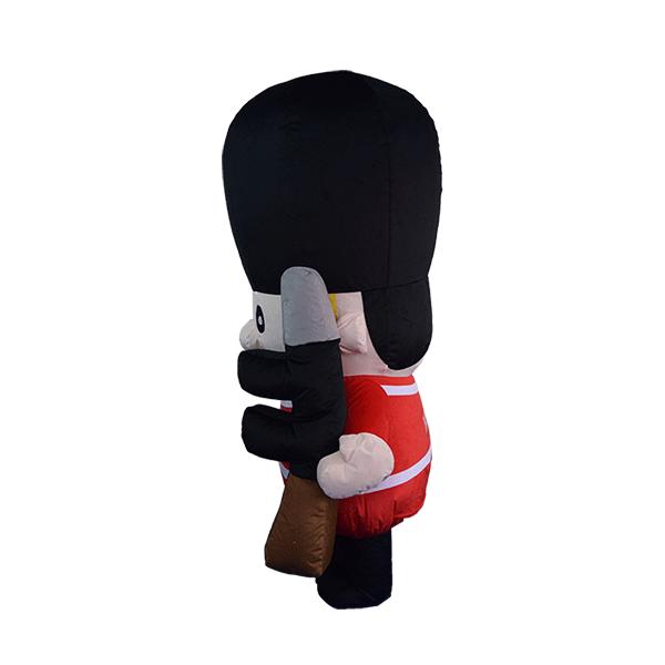 custom made mascot london guard hola mascot 1