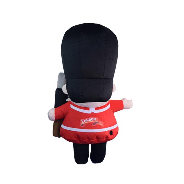 custom made maskot london guard hola mascot 1